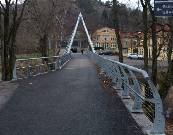 GC bro vid Kyrkbyn Partille
