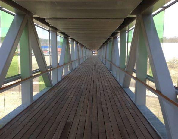 110m lång GC bro vid Östra Torp